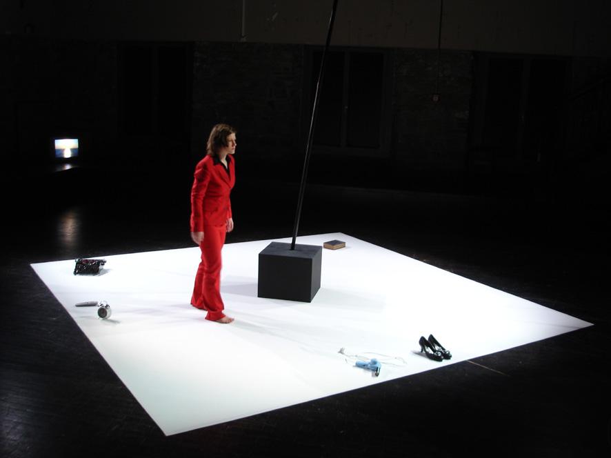 SAPPHO (Folkwang Universität der Künste, Klibühni Chur 2007) Mit: Kerstin Ohlendorf.